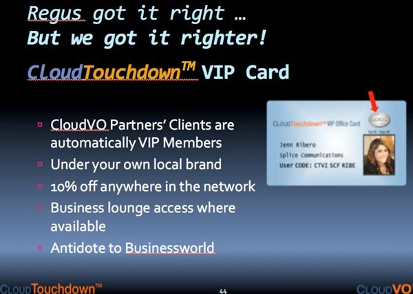 CloudTouchdown VIP Cards
