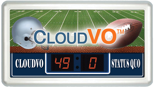 CloudVO annual football for partners and members