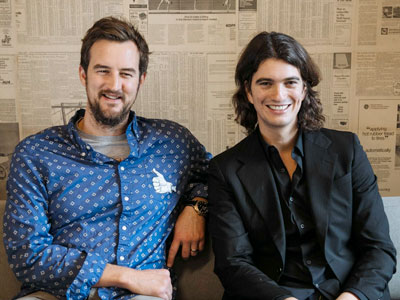 WeWork Cofounders