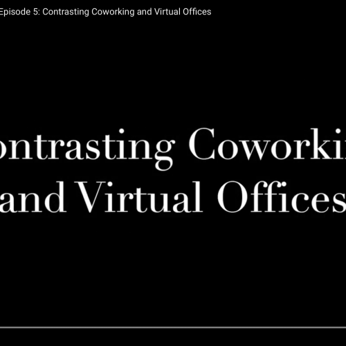 Commute with our CEO Episode 5: Contrasting Coworking and Virtual Offices