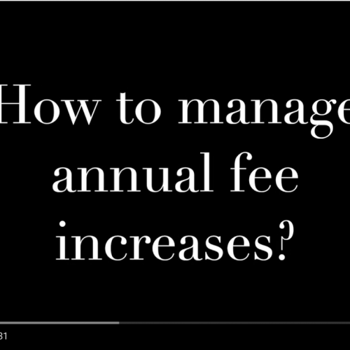 Commute with our CEO Episode 4: How to Manage Annual Fee Increases & the Value of Set Up Fees