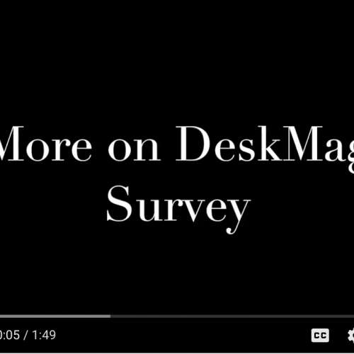Commute with our CEO Episode 7: More on DeskMag Survey
