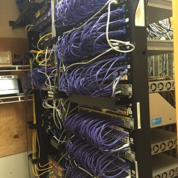 Clean Cabling in Data Center