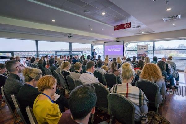 Coworking Europe 2017 Conference in Dublin. Photo by Eric van den Broek