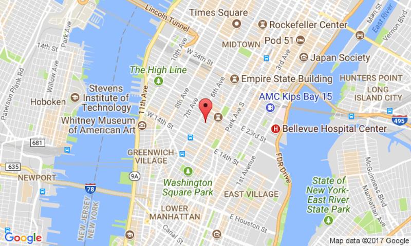 New York Chelsea Google Map