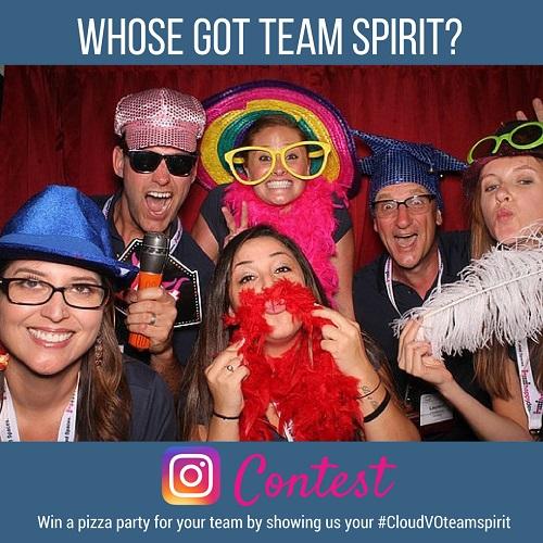 CloudVO Announces March Instagram Contest: Whose Got Team Spirit?