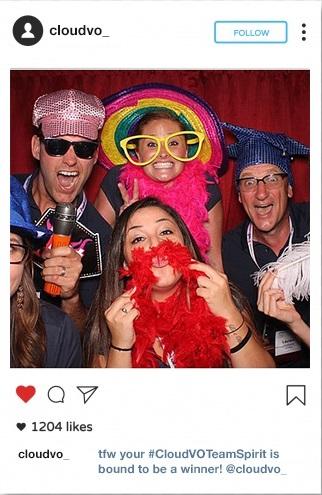 CloudVO Team Spirit Instagram Contest