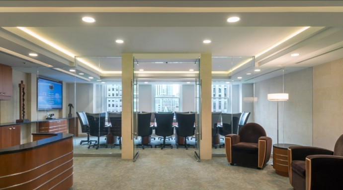 Large Conference Room at Rockefeller Plaza New York City