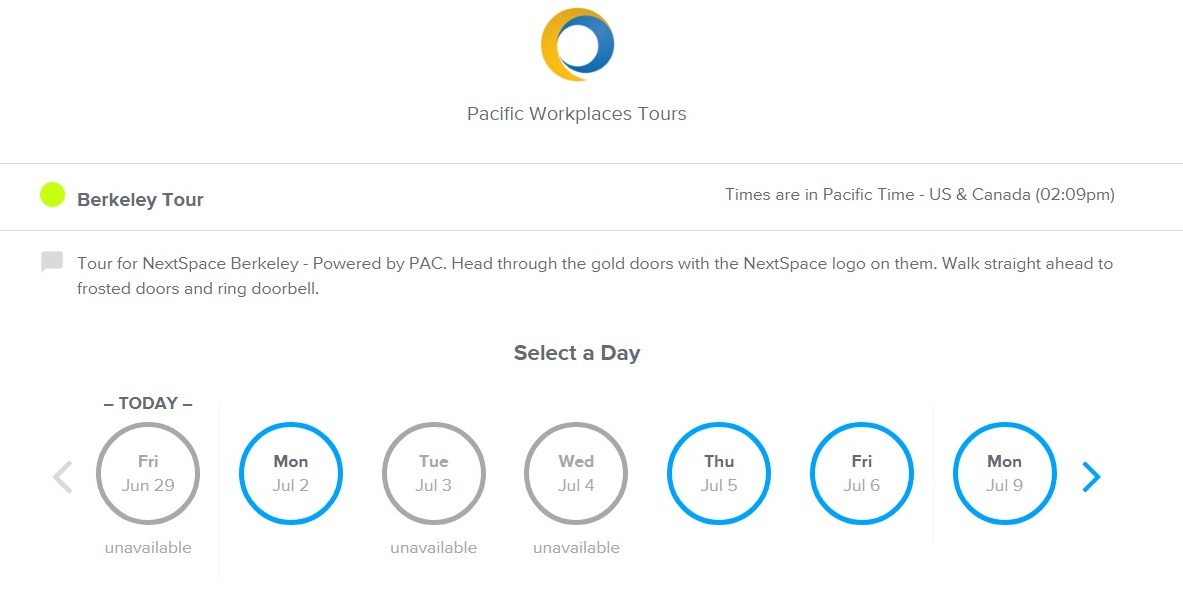CloudVO Blog Platforms and Tools Calendly for booking workspace tours