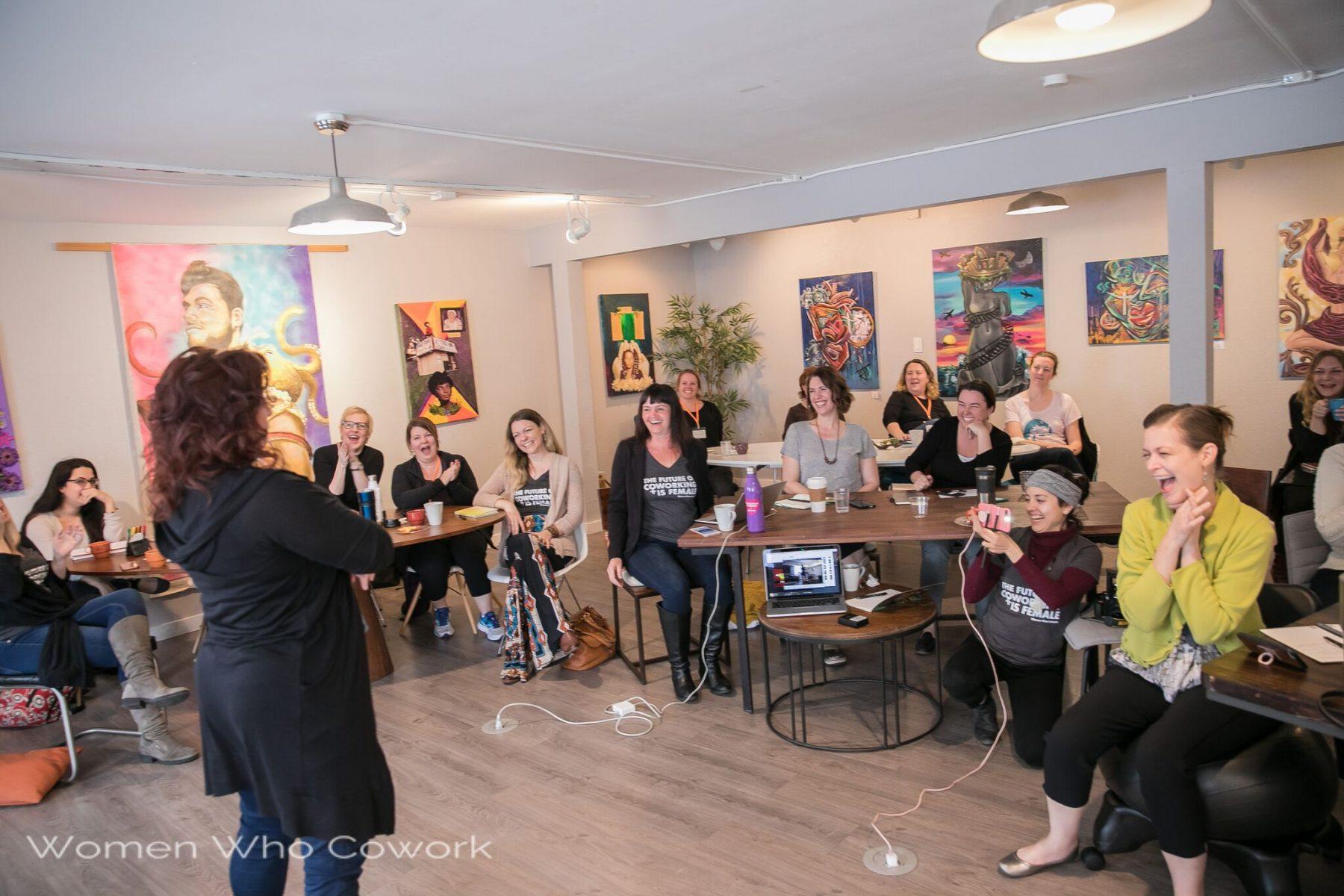 Women Who Cowork retreat