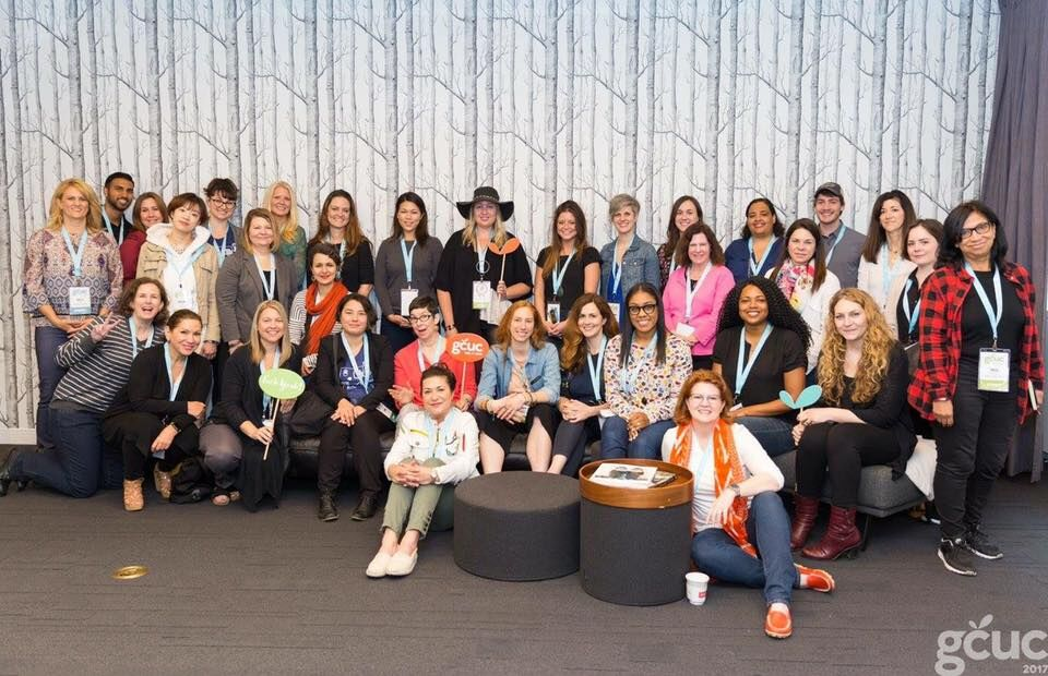 Women Who Cowork unconference session at GCUC, USA 2017