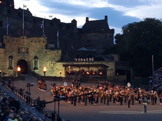 Festival at Edinburgh Scotland and working remote