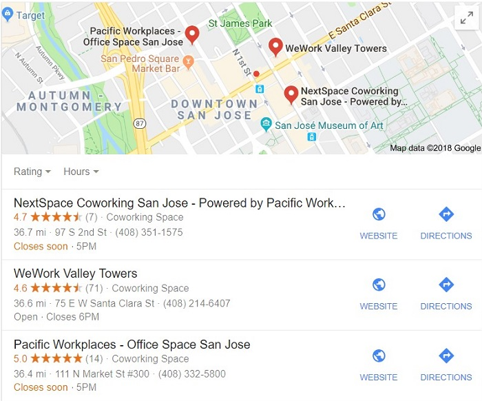 Marketing A Coworking Space and Google My Business
