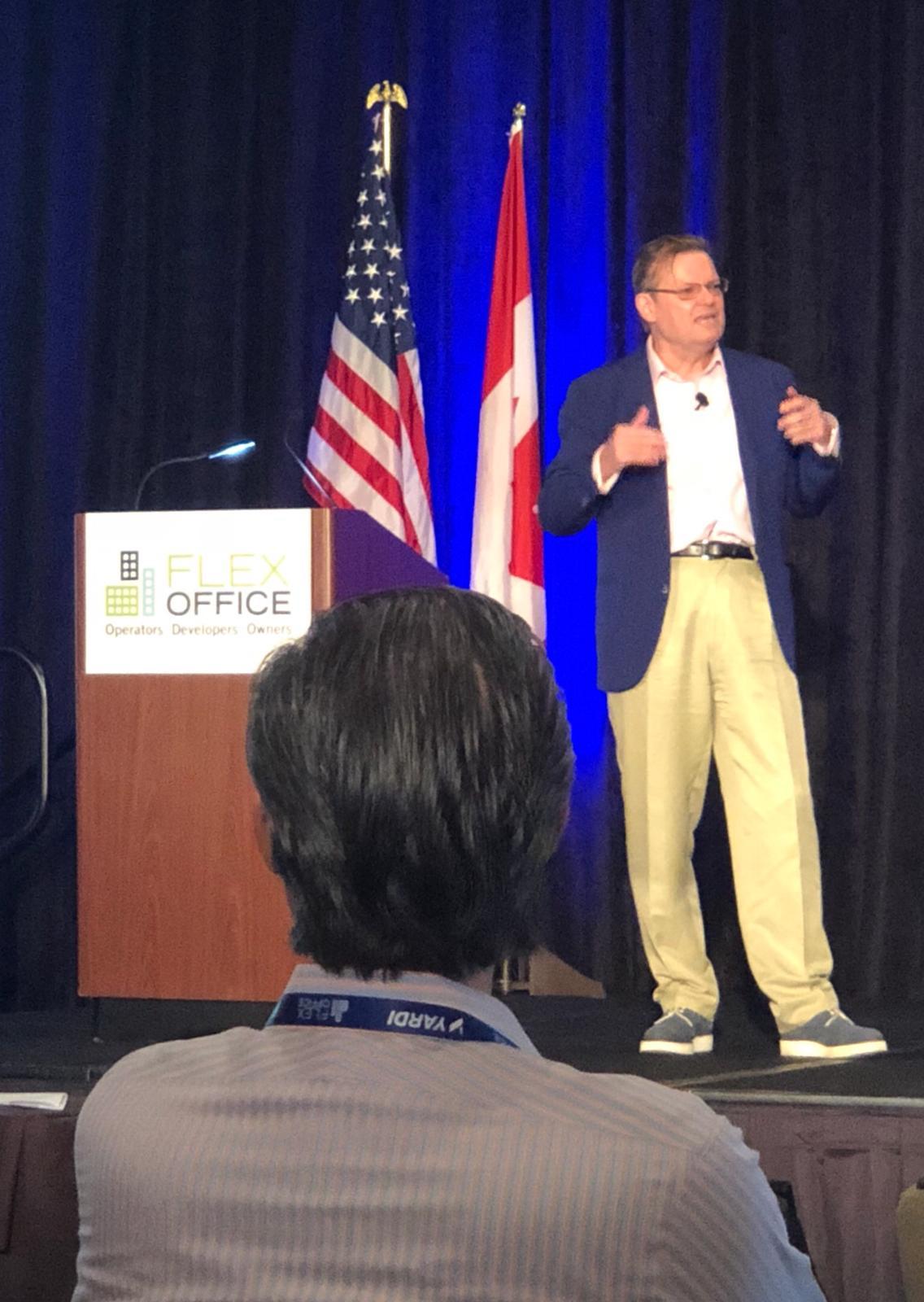 Flex Office Conference 2018 - Antony Slumbers