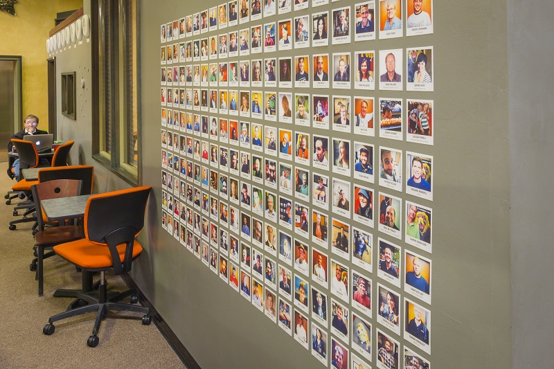 CloudVO Blog Five Workspace Tour Best Practices NextSpace Coworking Santa Cruz Member Wall