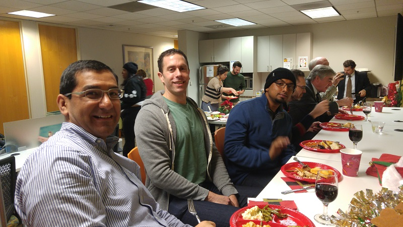 Pacific Workplaces Oakland Holiday Potluck Event