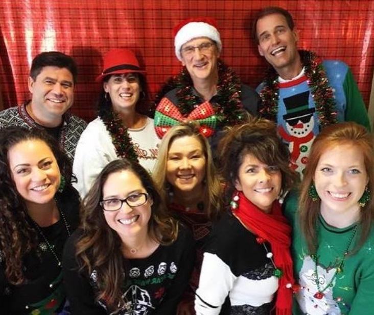 Pacific Workplaces Ugly Sweater Party Holiday Member Event