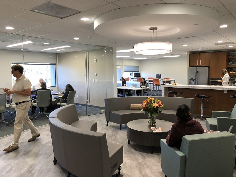 CloudVO Sister Company Pacific Workplaces Walnut Creek new coworking space and lounge