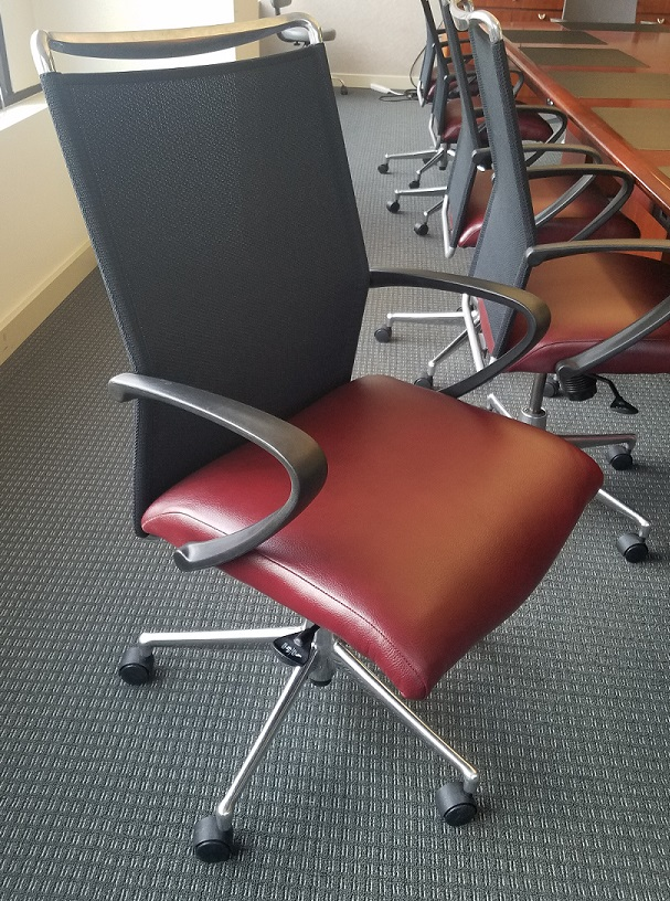 Pacific Workplaces Sacramento Capitol Repurposed Boardroom Chairs