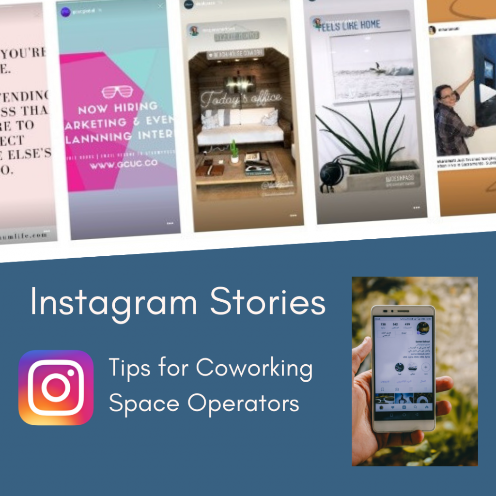 CloudVO Tips on Instagram Stories for Coworking Operators