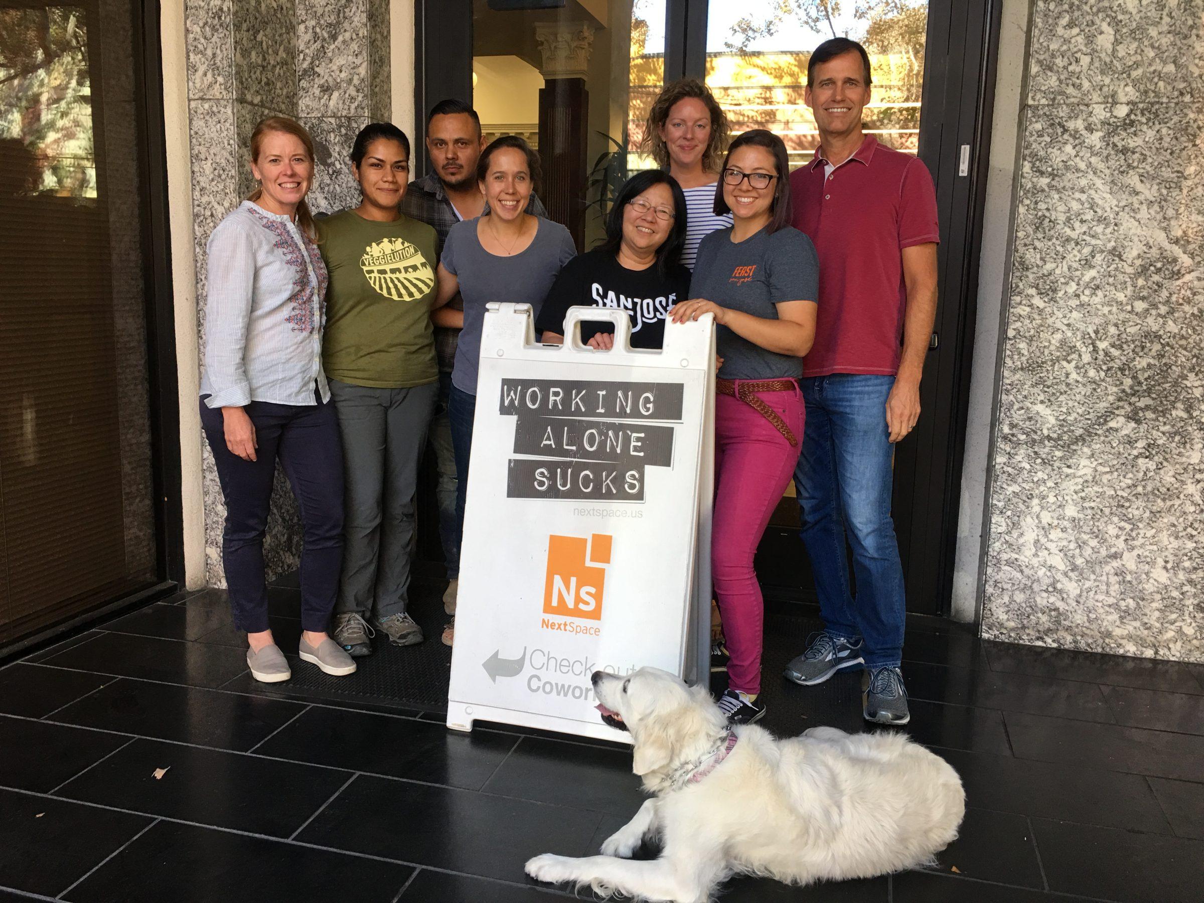 Urban community farm, Veggielution, finds donated workspace at NextSpace San Jose