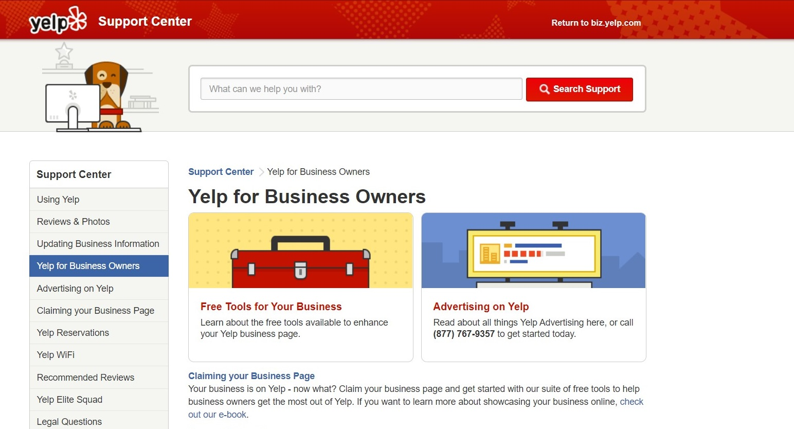 Yelp Marketing for Coworking Space Operators Business Owners Support Center