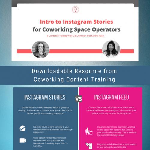Instagram Stories: A Guide for Coworking Operators