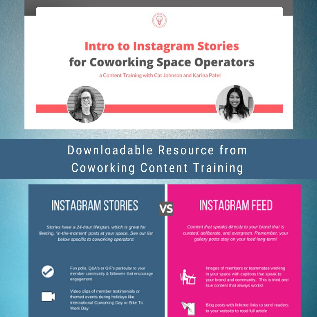 IG Stories Resource | CloudVO