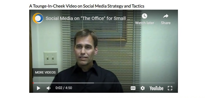 Social Media on The Office for Small Businesses