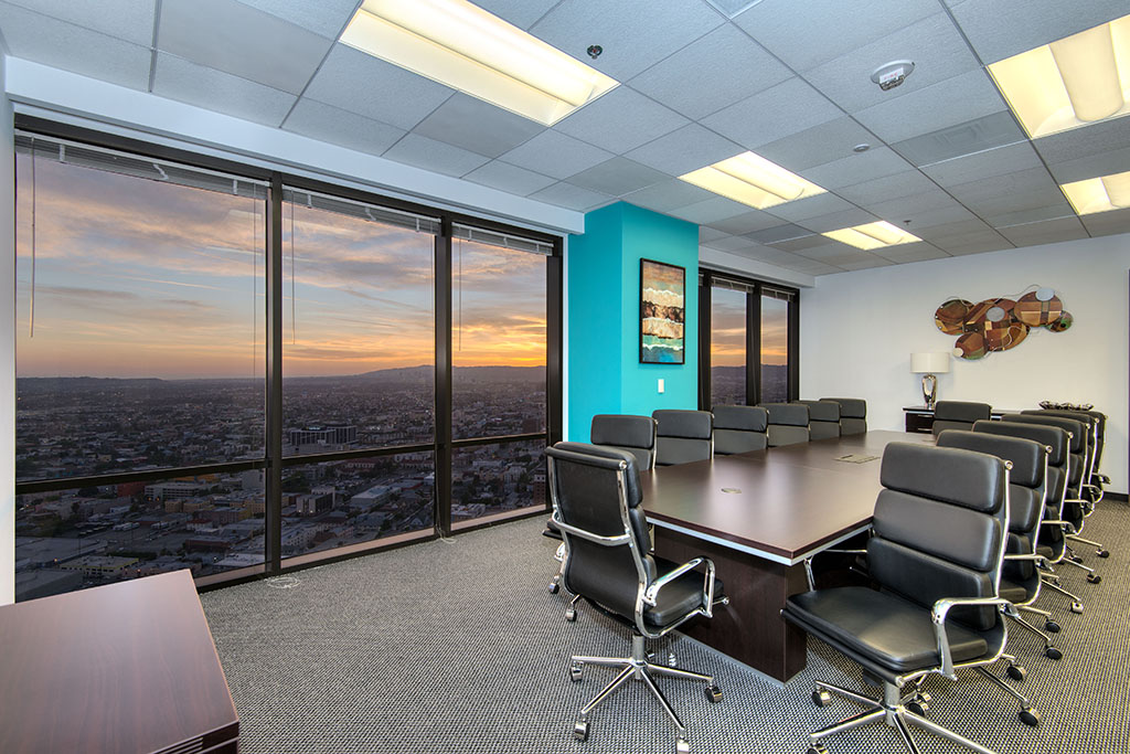 Titan Offices Los Angeles Boardroom | CloudVO City Guide