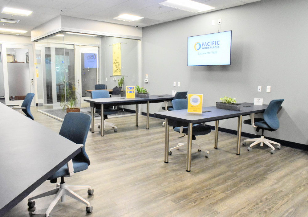 Sacramento Coworking Pacific Workplaces Sacramento Watt | CloudVO