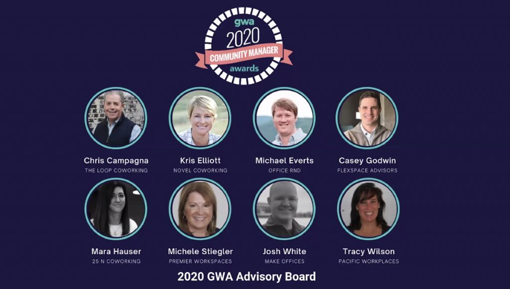 Global Workspace Association Community Manager Awards 2020