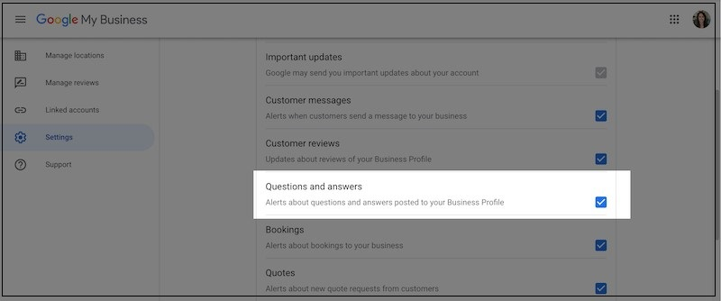 Google My Business Best Practices for Coworking Operators Q and A Alerts | CloudVO