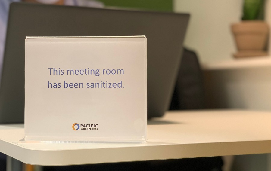 Meeting Rooms Sacramento Health and Safety | Pacific Workplaces | CloudVO