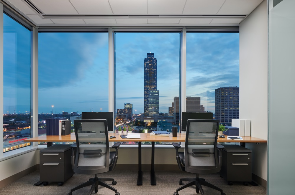Houston office space Fuse Workspace | CloudVO